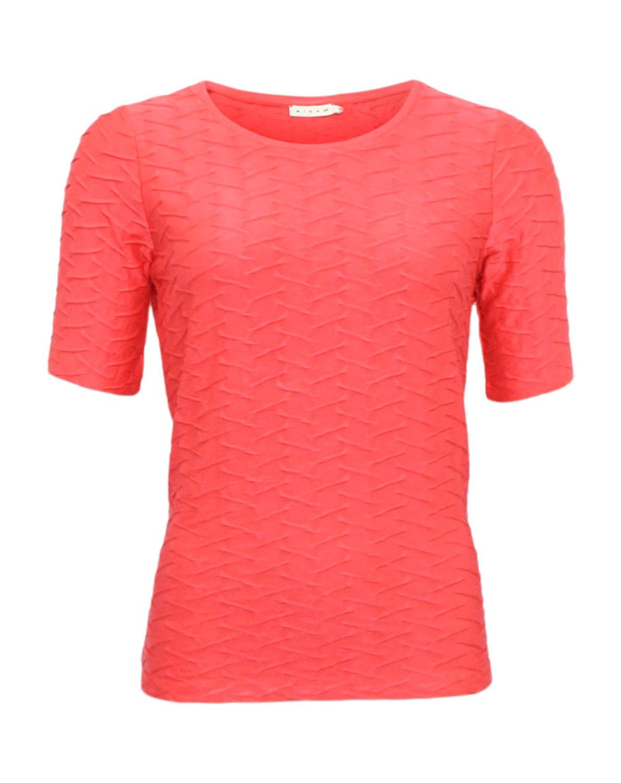 Micha T-skjorte m. Bølgemønster