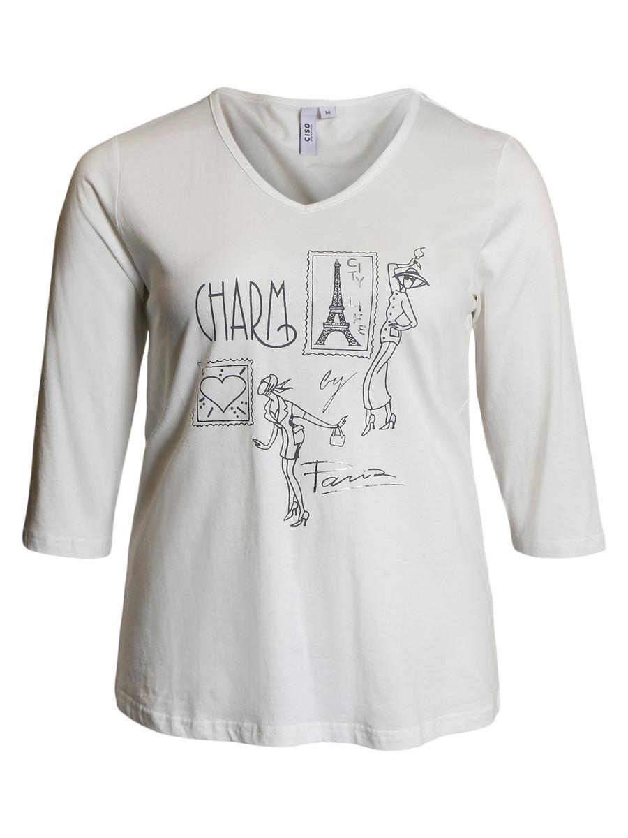 Ciso Charm T-skjorte Lyseblå