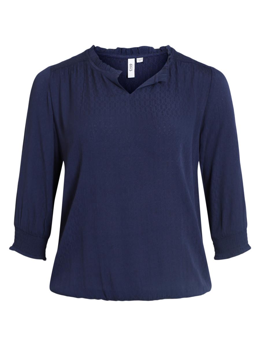 Ciso Bluse Marineblå