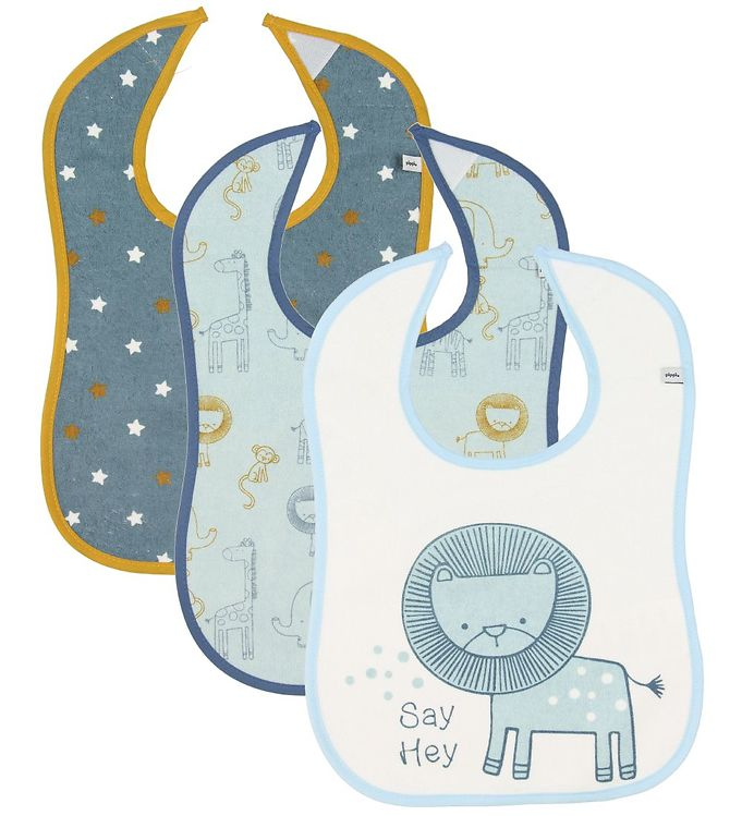 Terry bib AOP 3pack