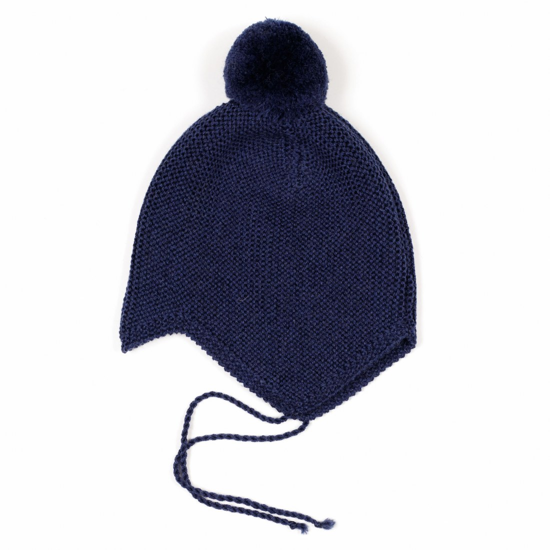 Woolen Babyhut w/yarn tassel