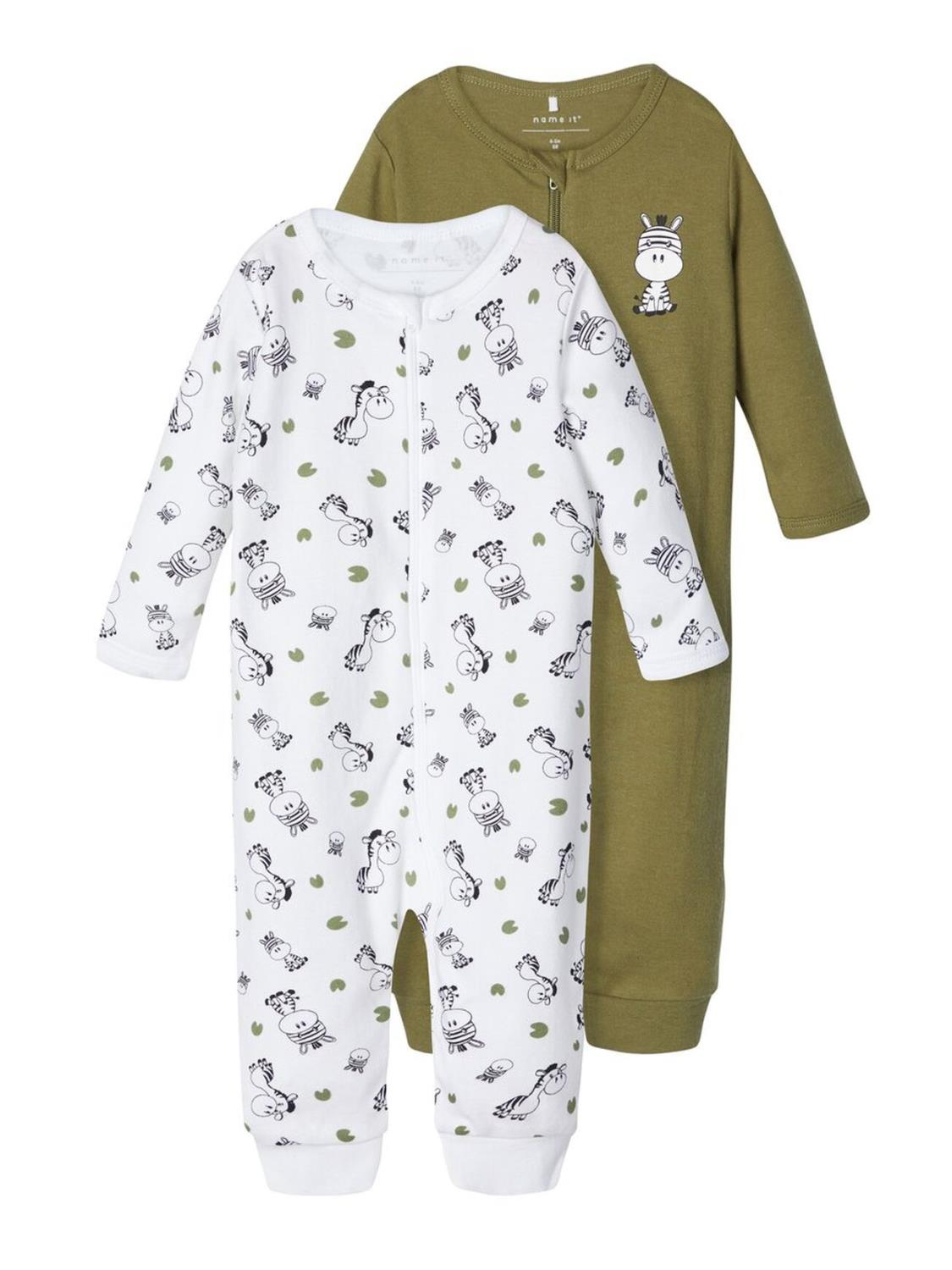 Nightsuit 2P Zip Baby