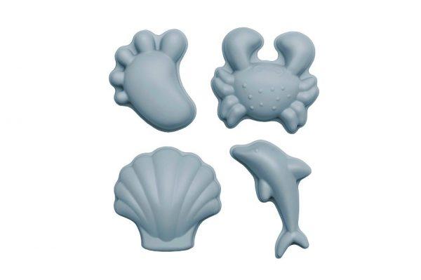 Scrunch Sandformer 4pk Blå