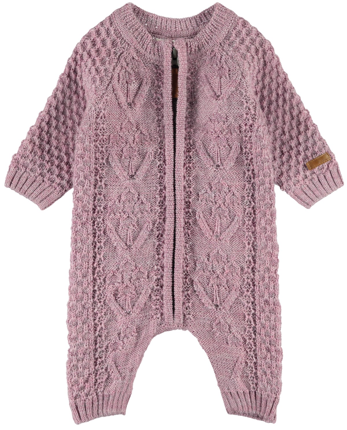 Wrilla Wool LS Knit Suit baby
