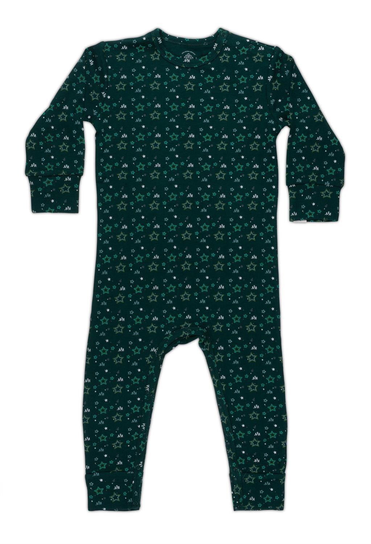 Stine Sofie Baby Pysjamas - Dyp Grønn