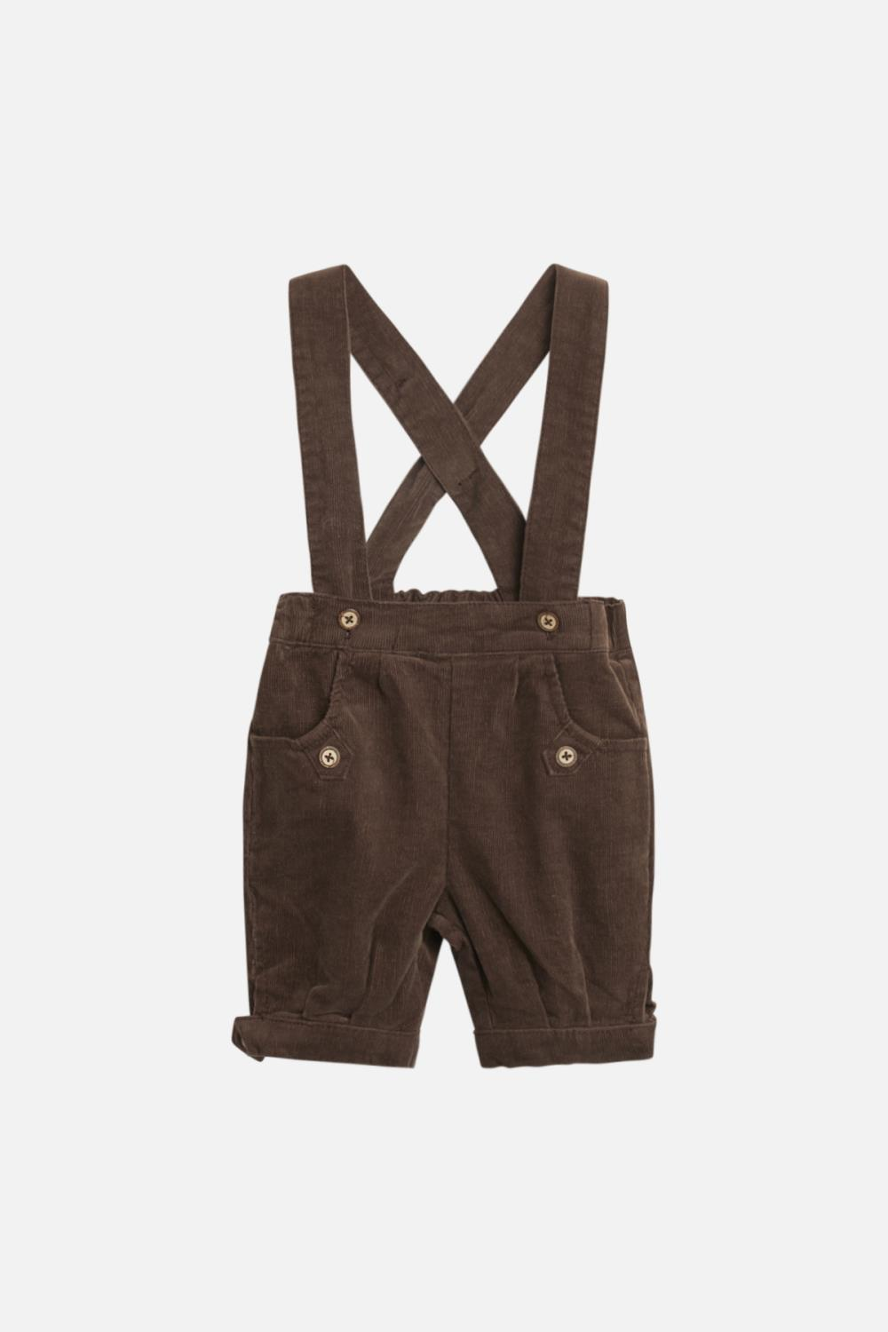 Hanibal Shorts m/seler - Chestnut