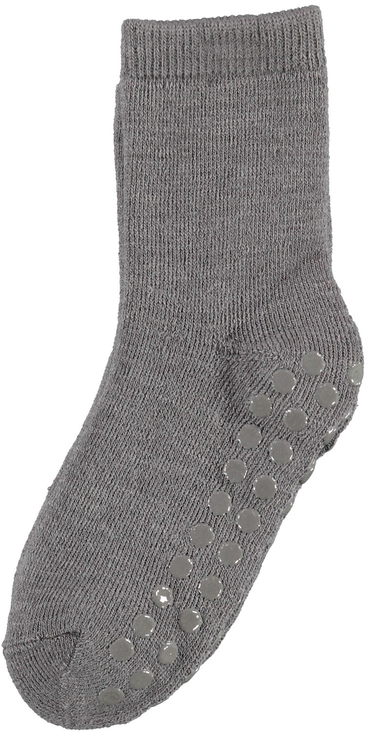 Waksi Wool Terry Sock w/non skid Mini