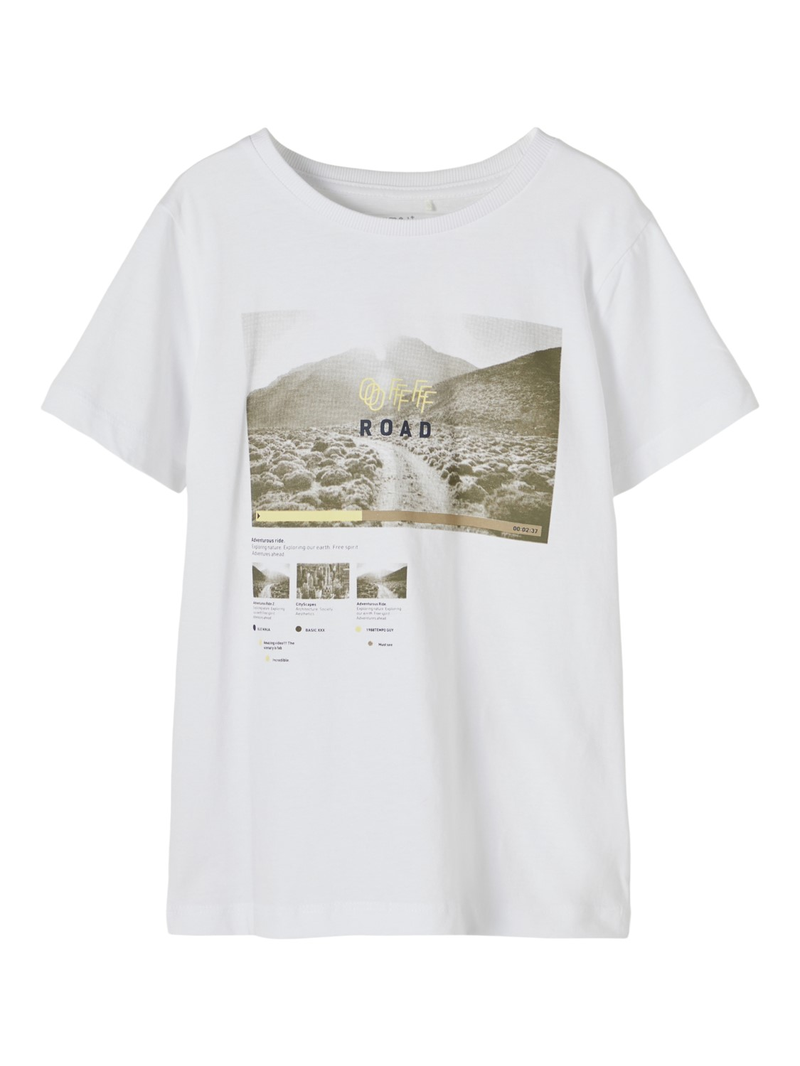 Bertil ss Top Camp - Bright White