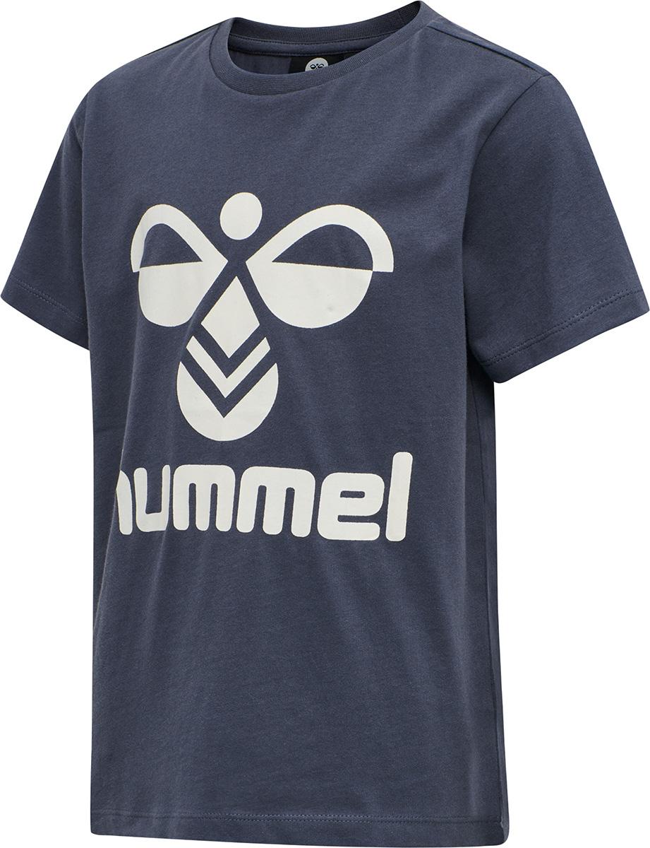 Tres T-Shirt S/S - Ombre Blue