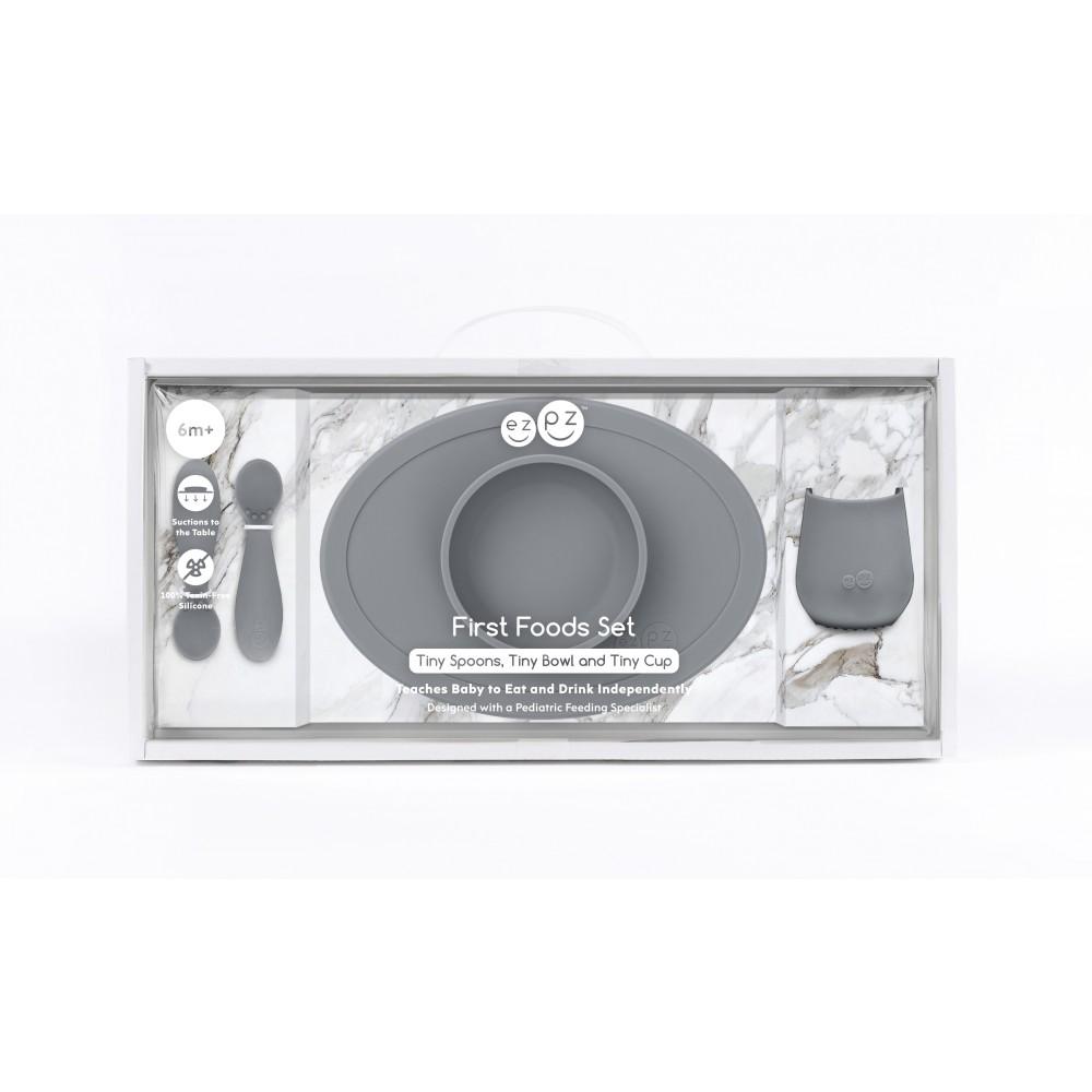 Wzpz - First food set - Grey