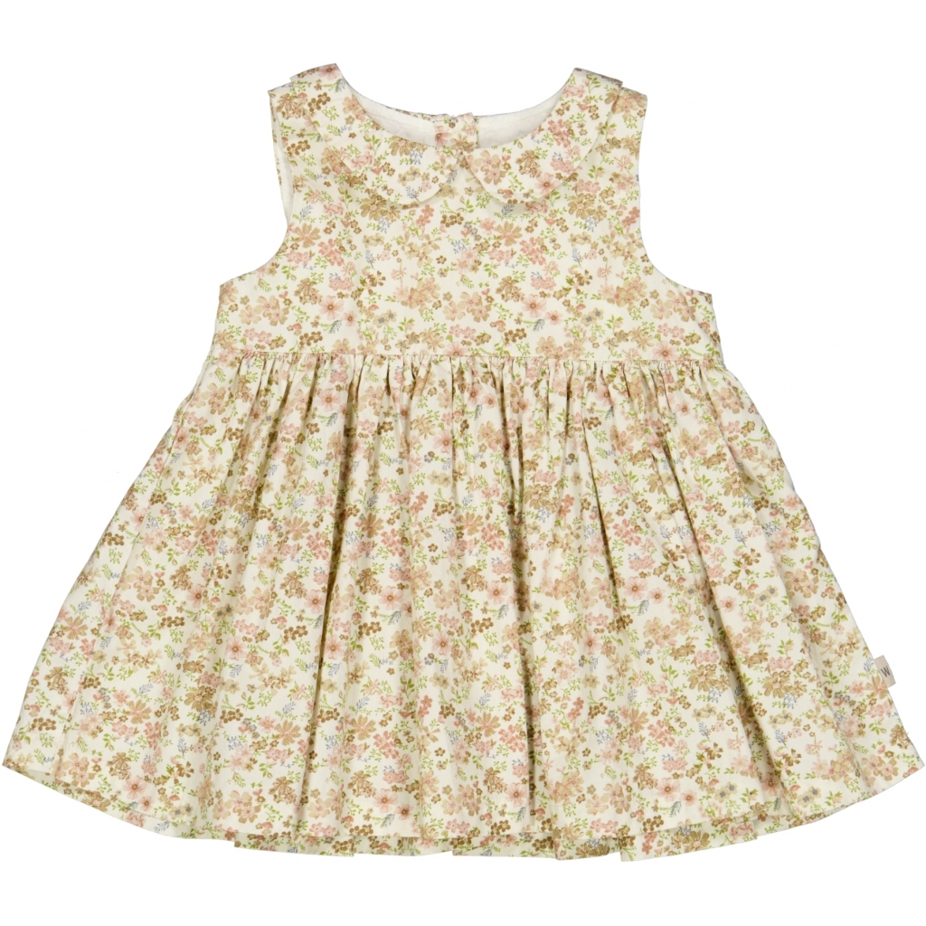 Dress Eila - Eggshell flowers