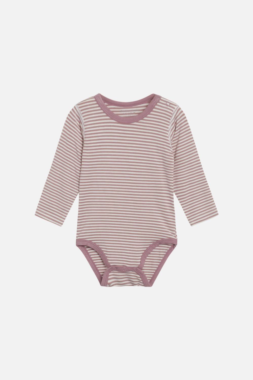 Buller bamboo body, stripete rosa