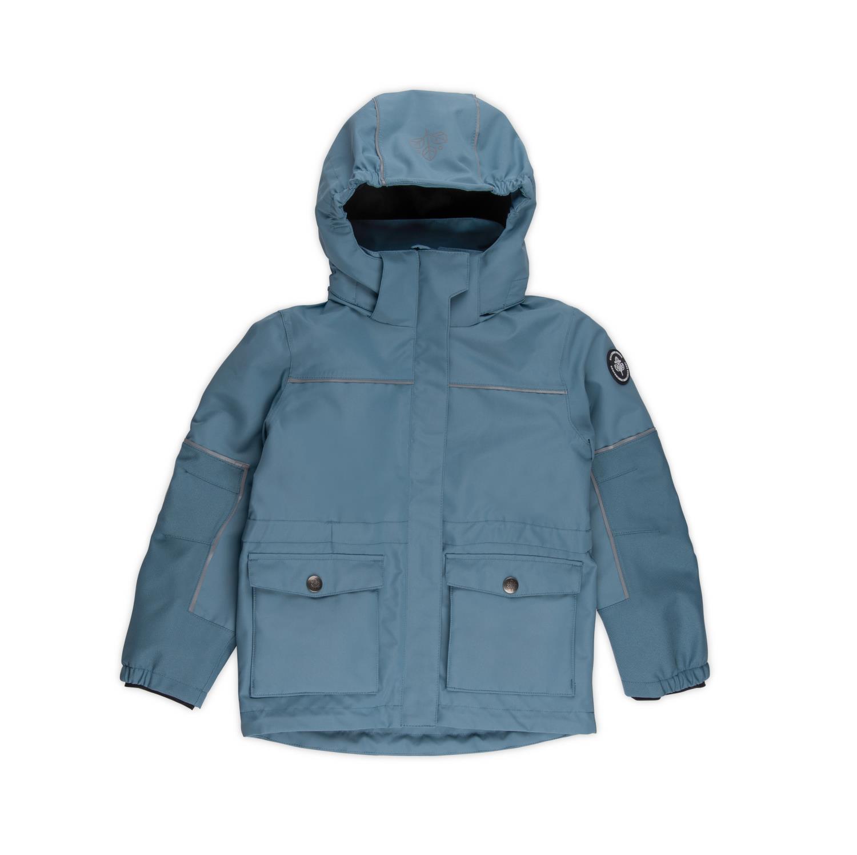Timotei 2-lags jakke - Blåstein