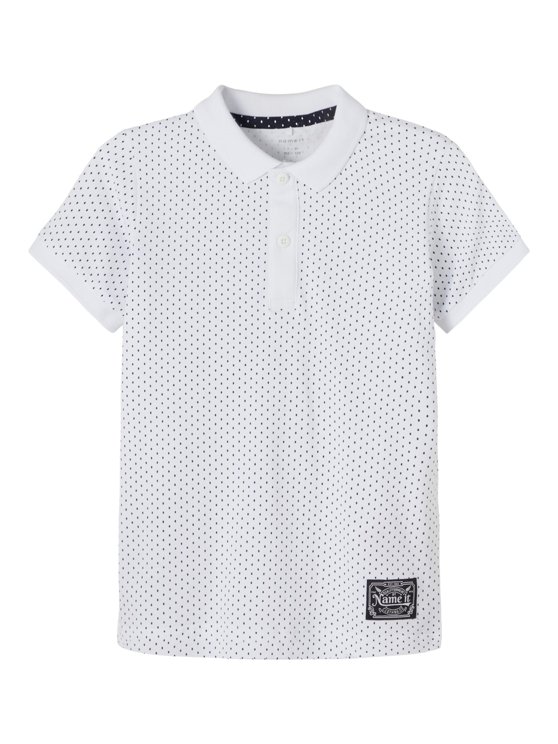 Tito polo, bright white