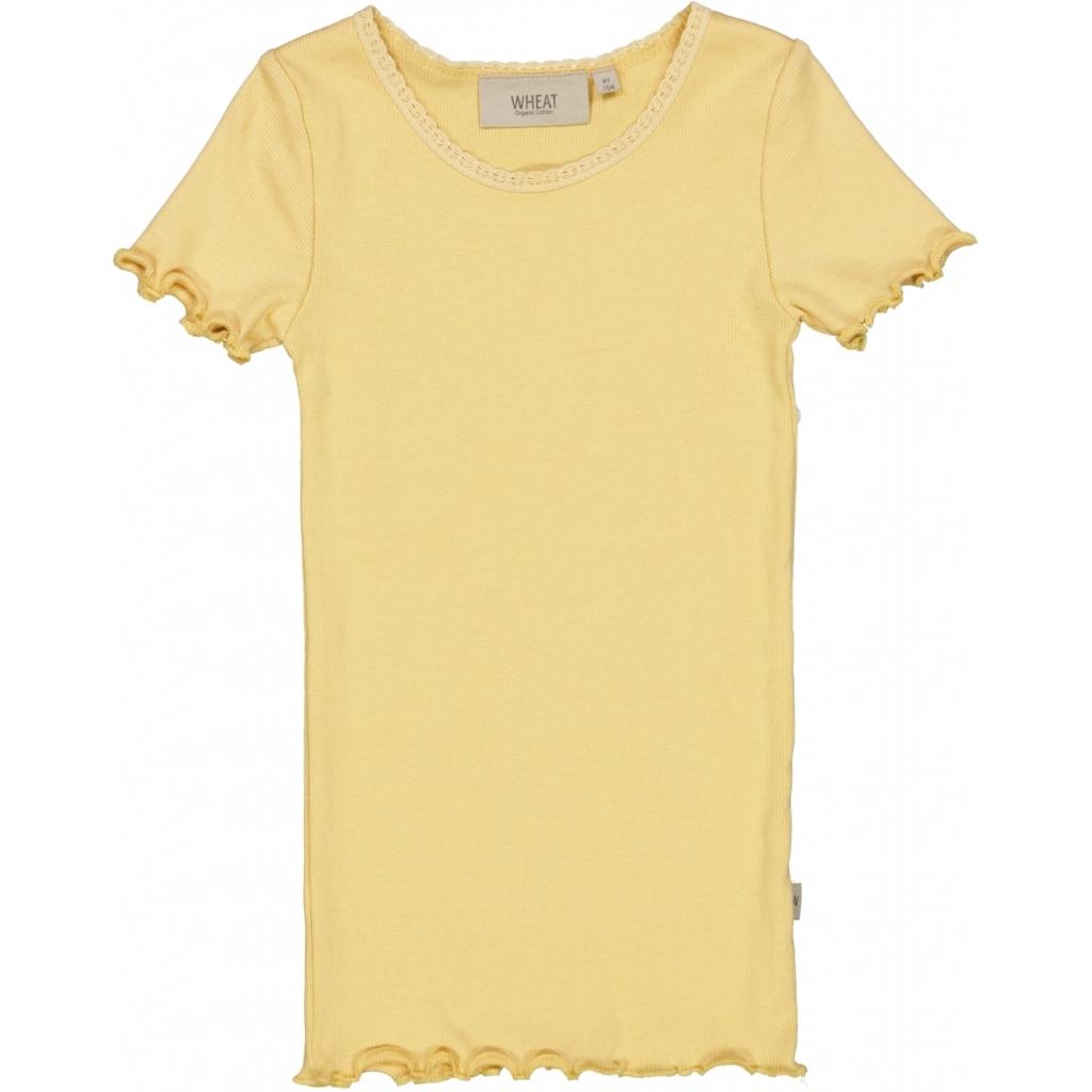 Rib T-shirt, Sahara sun