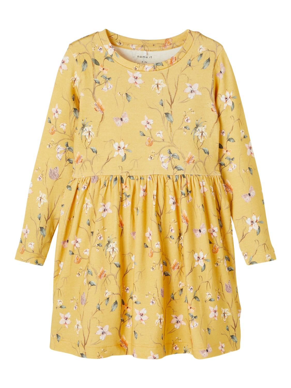 Fiola dress, Ochre