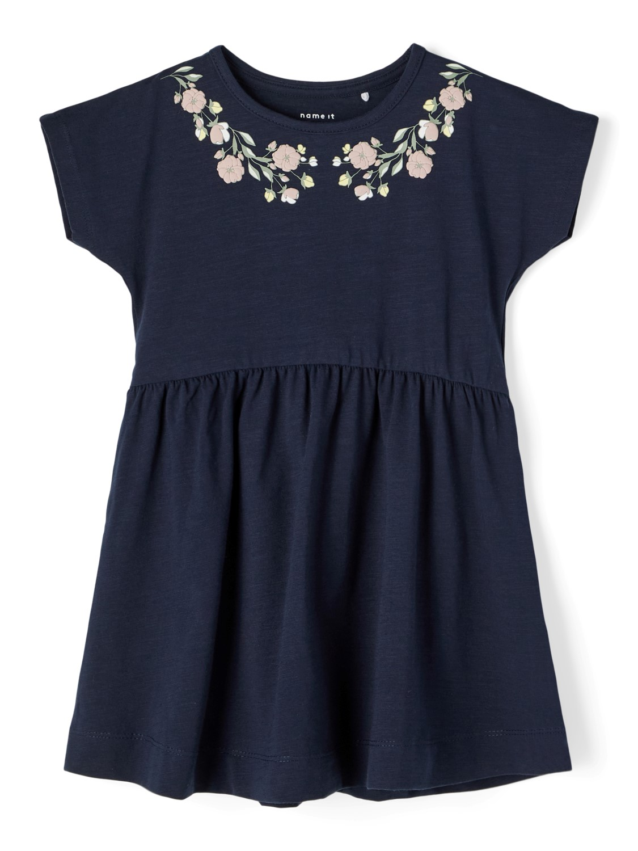 Hedviig dress, dark Sapphire