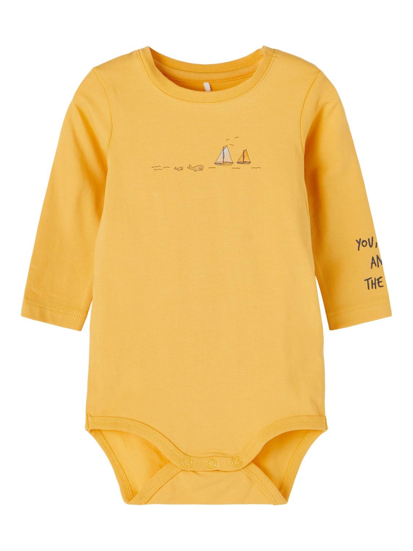 Fital LS Body Baby - Ochre