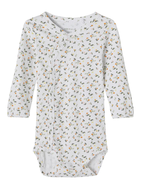 Janice LS Wrap Body - Bright White