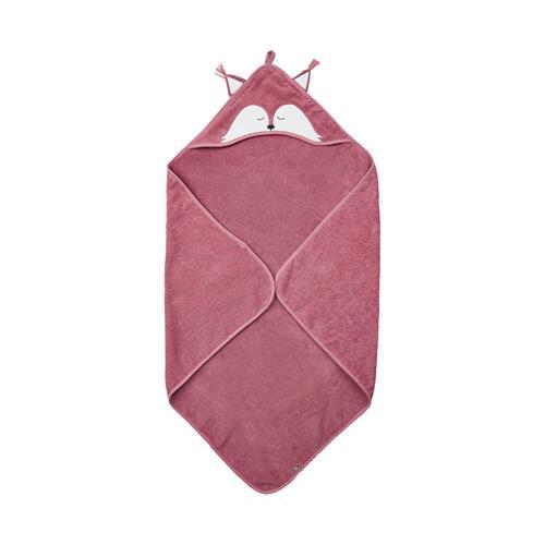 Organic Hooded towel w/fox - Heather Rose