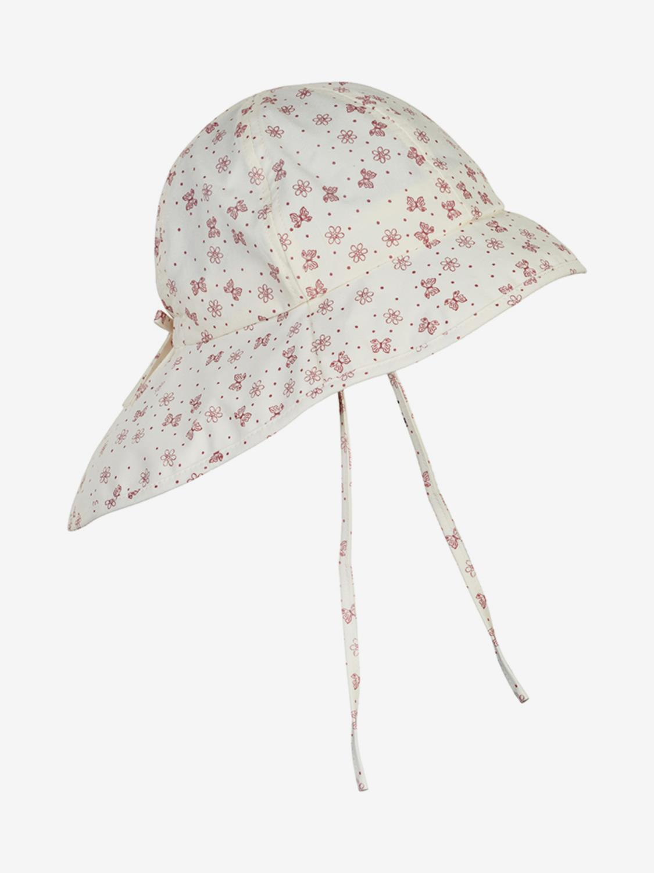 Sun Hat w/string - Old Rose