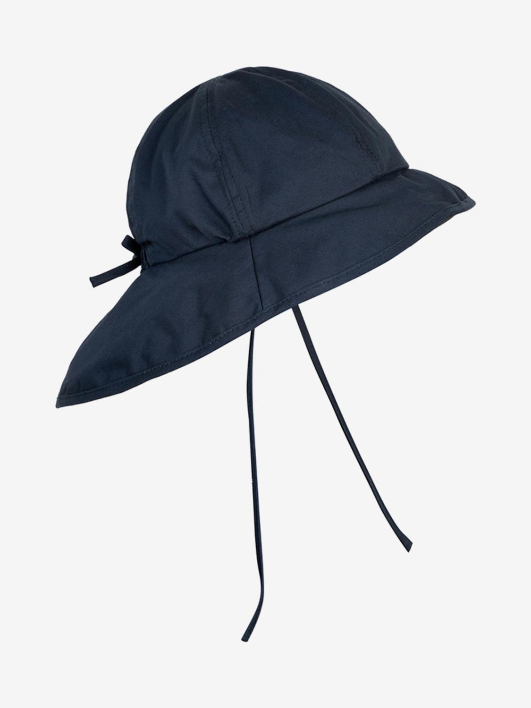 Sun Hat w/String - Dark Navy