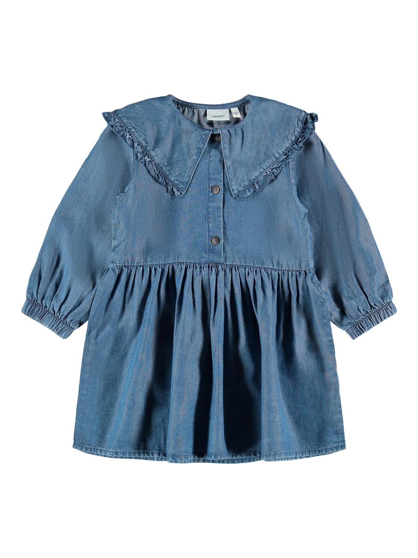 Nasanne LS Collar Dress