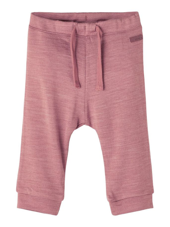 Wesso Wool Sweat Pant Baby - Nostalgia Rose