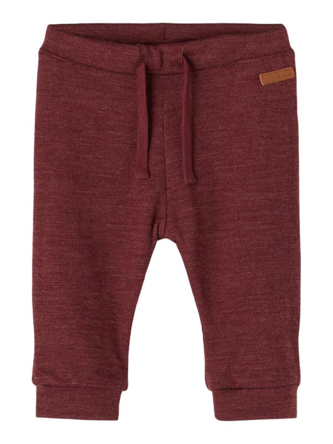 Wesso Wool Sweat Pant Baby - Red Mahogany