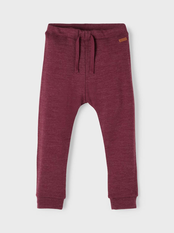 Wesso Wool Sweat Pant Mini - Red Mahogany