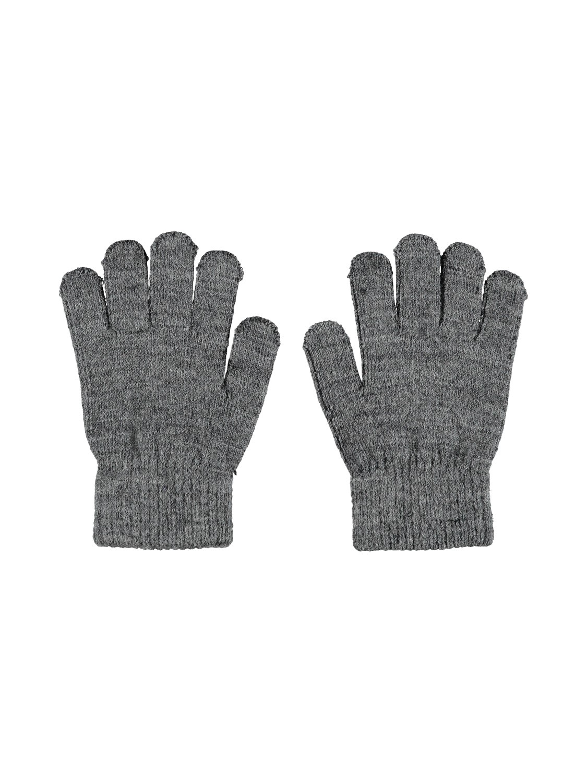 Wholla Wool Gloves Kids - Dk Grey Mel