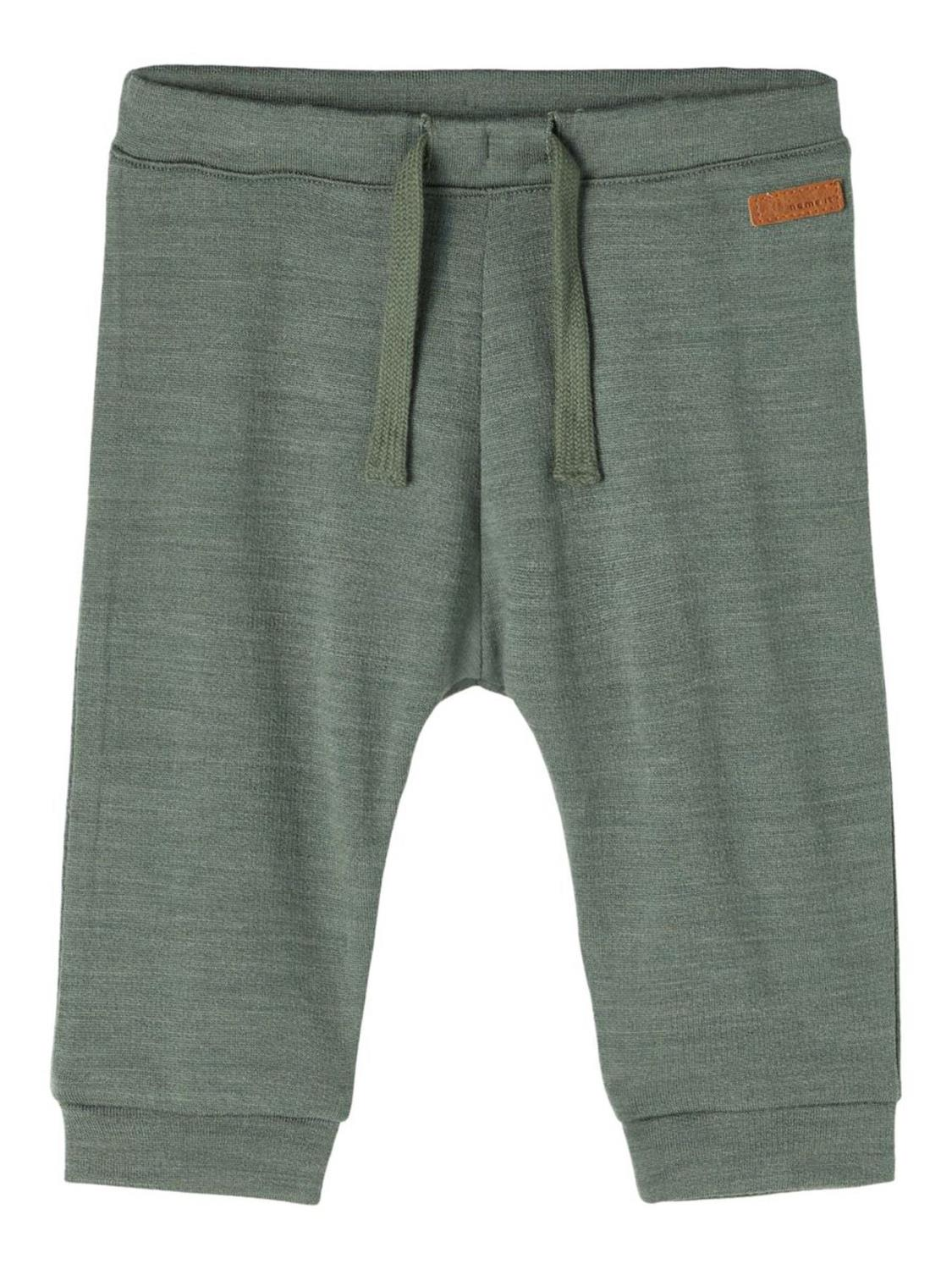 Wesso Wool Sweat Pant Baby - Duck Green