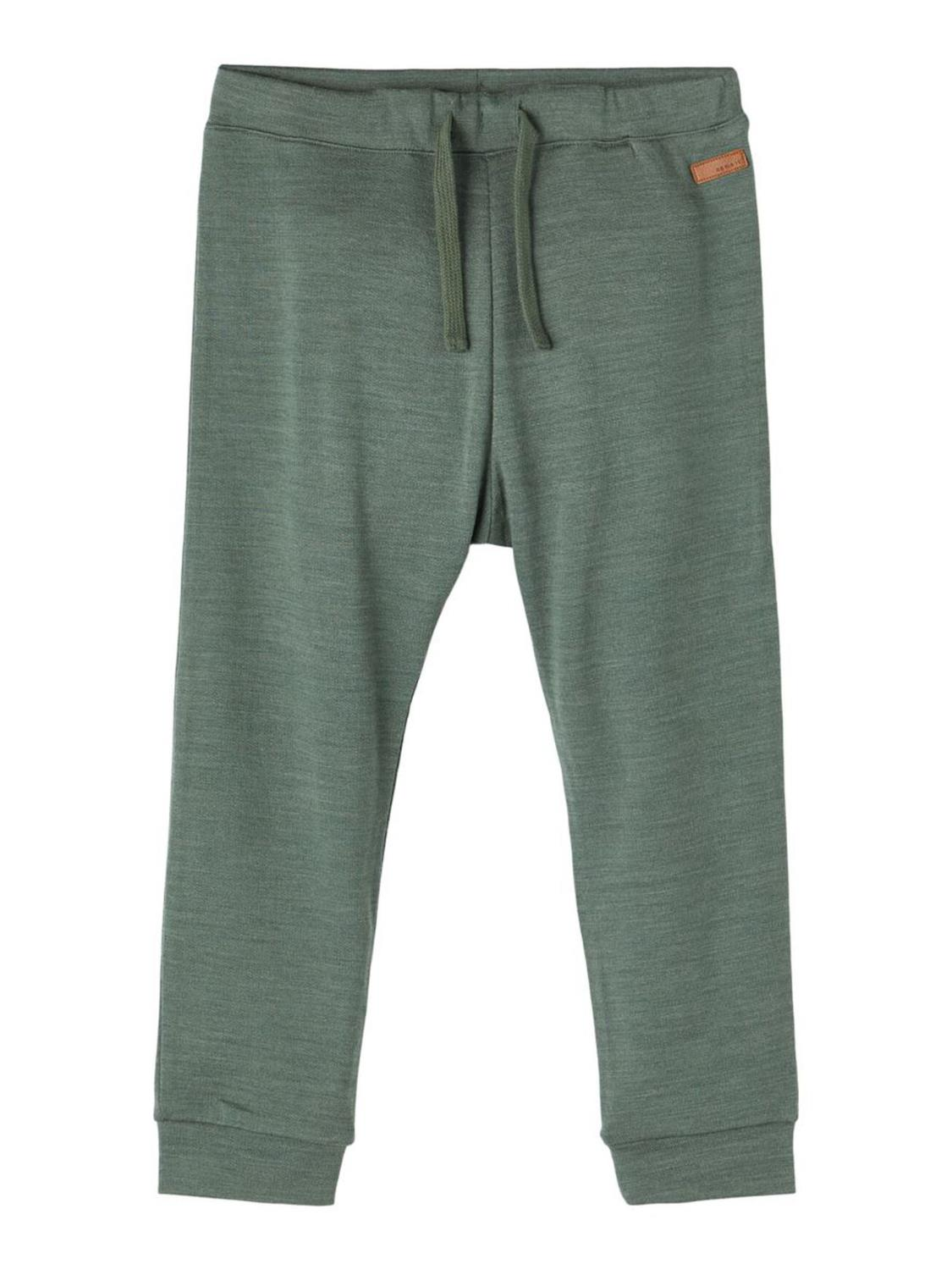 Wesso Wool Sweat Pant - Duck Green