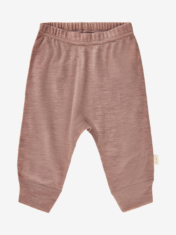 CeLaVi Wool Harem Pants - Burlwood