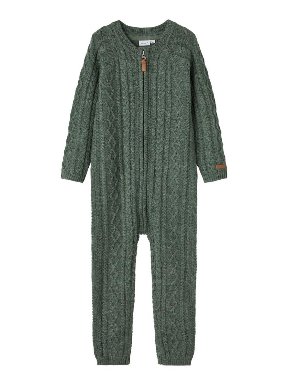 Wrilla Wool LS Knit Suit Mini - Duck Green