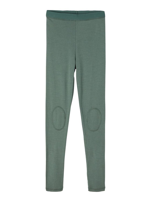 Wikkto Wool Longjohn - Duck Green