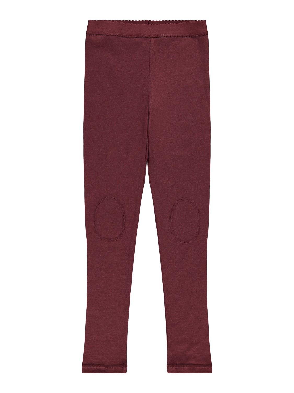 Willto Wool Legging - Red Mahogany