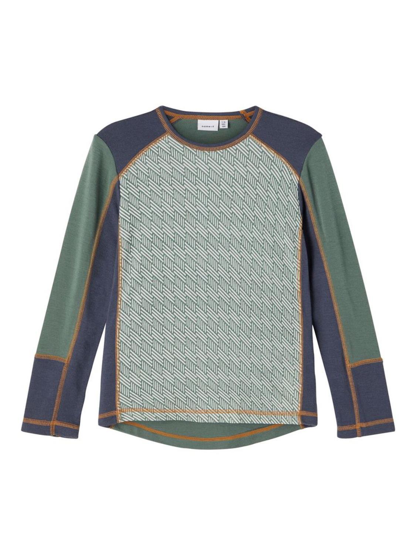 Willto Wool LS Top - Duck Green