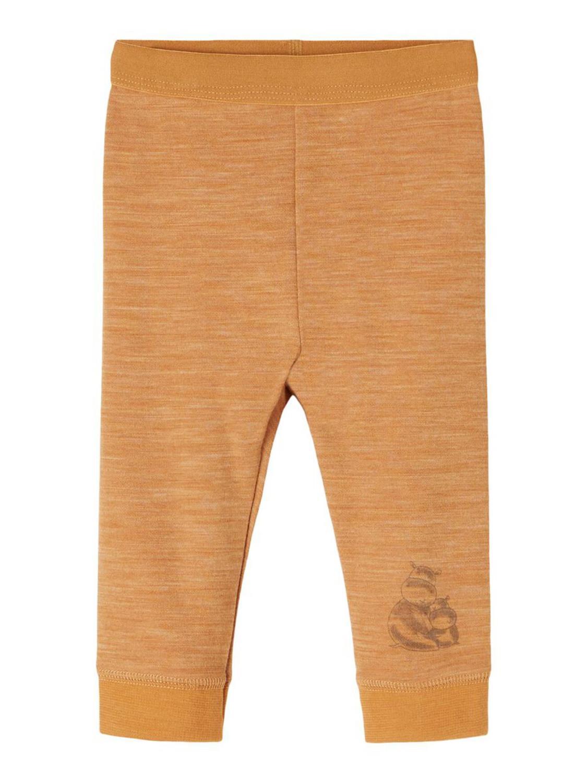 Wup Wool/Cotton Legging - Brown Sugar