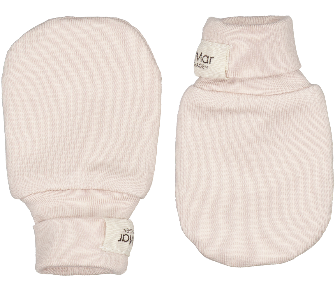 Modal Smooth Solid, Gloves Baby - Rose Moon