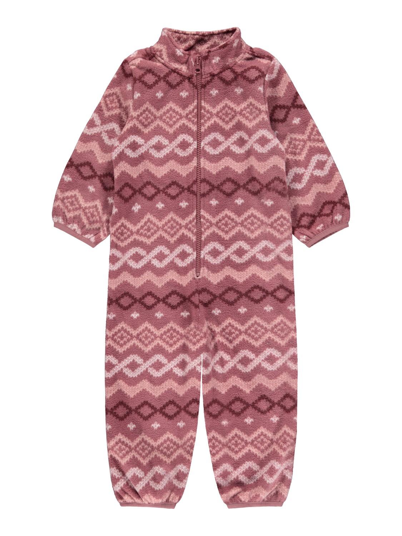 Spektra Fleece Suit - Deco Rose