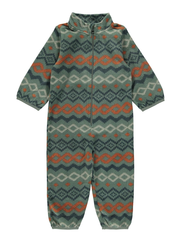 Sektra Fleece Suit - Duck Green