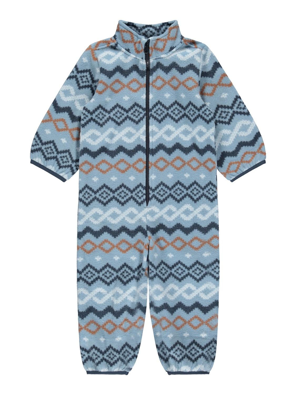 Spektra Fleece Suit - Dusty Blue