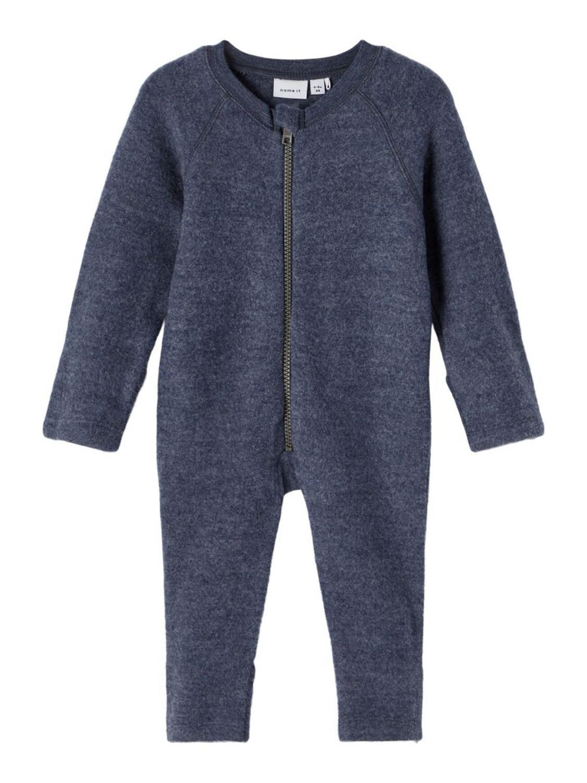 Wmino Wool Suit, Børstet - Ombre Blue