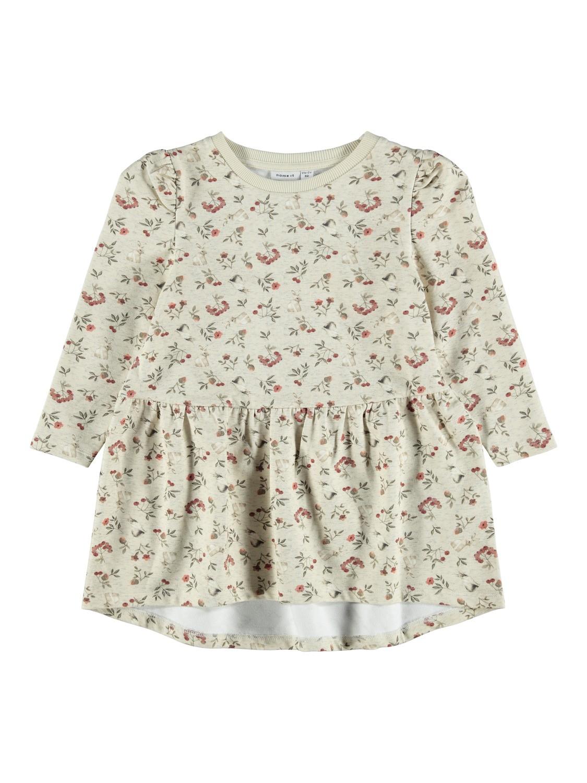 Nikoline Ls Sweat Dress - Peyote Melange