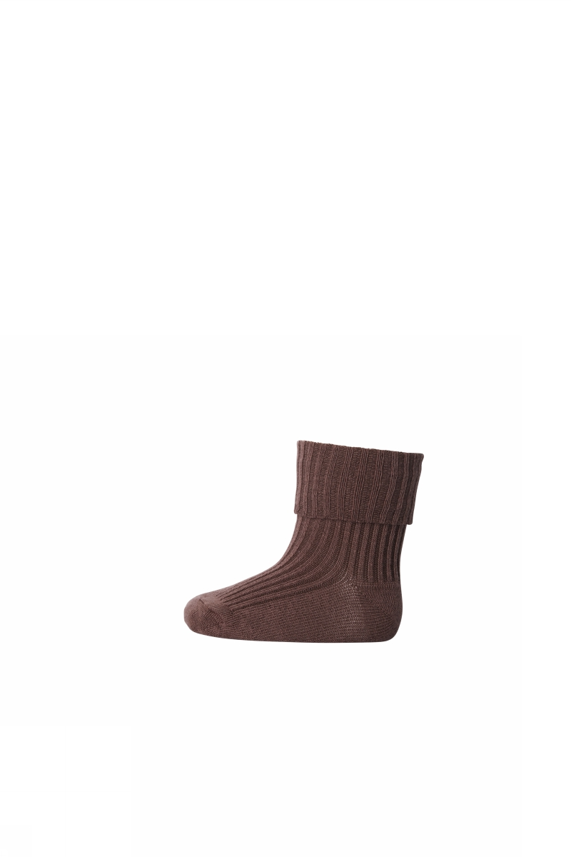 MP Wool Rib Sock - Brown