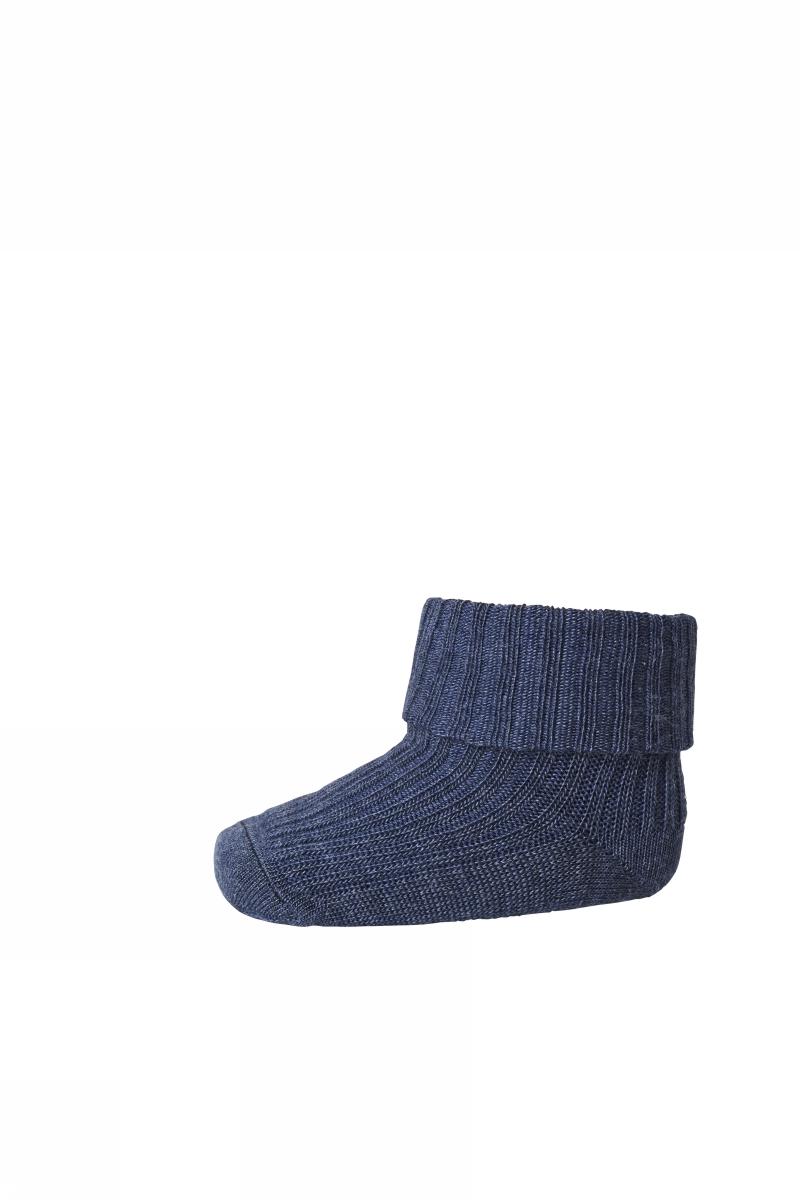 MP Wool Rib Sock - Blue