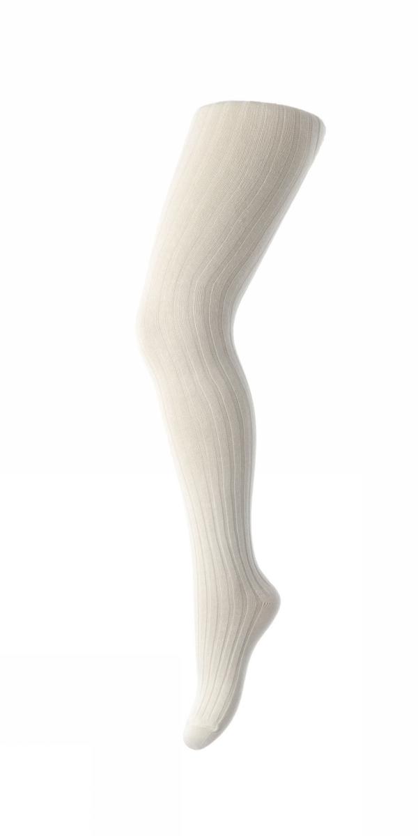 MP Wool Rib Tights - Cream