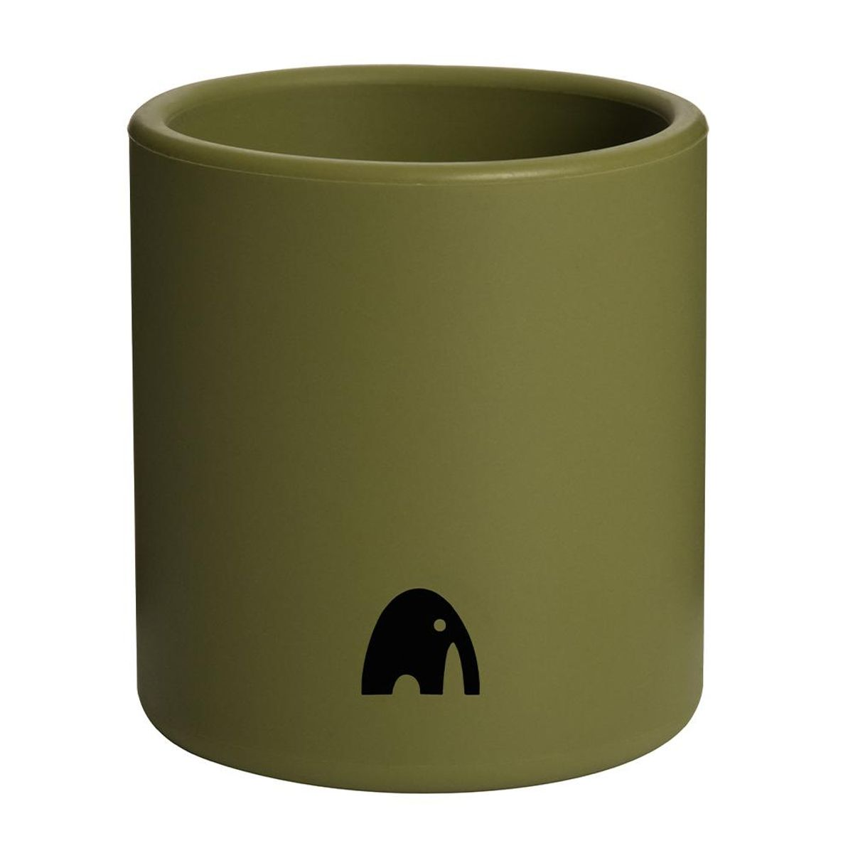 Kopp i Silikon - Olive