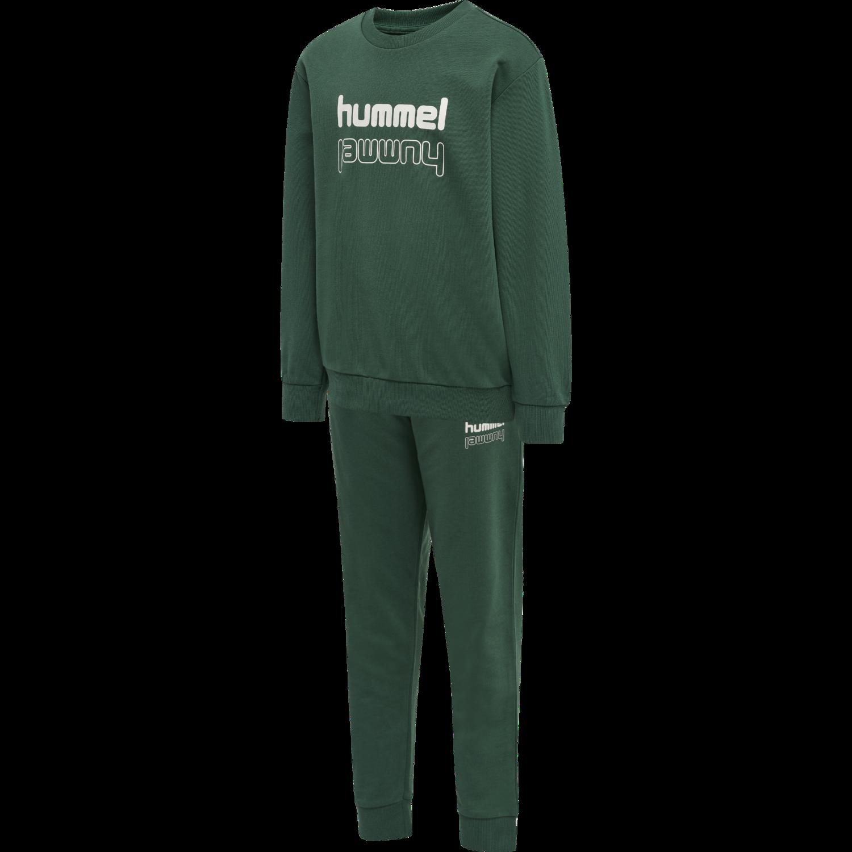 Hummel Spring Tracksuit - Grønn